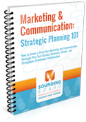 Marketing and Communication Strategic Planning 101